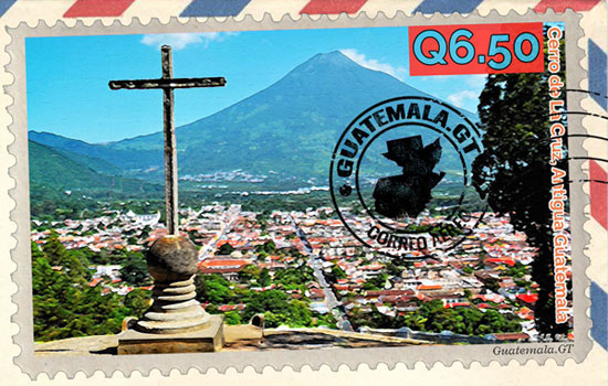 sello postal, Guatemala, 2020
