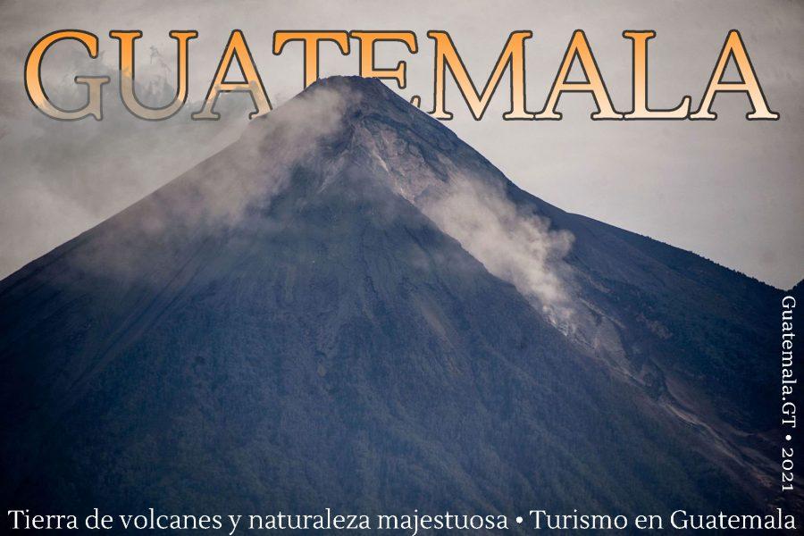 Volcanes de Guatemala, cartel de turismo
