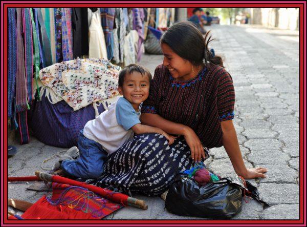 Guatemala-Mayan-family