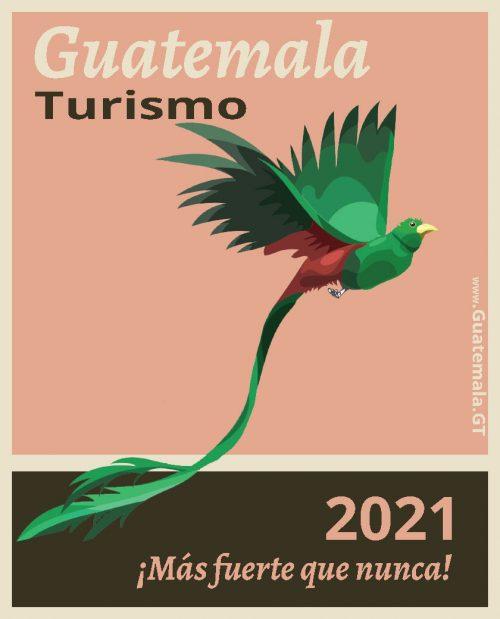Guatemala turismo, cartel promocional