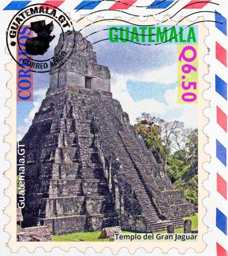 El Templo del Gran Jaguar, pirámide, Tikal, Guatemala