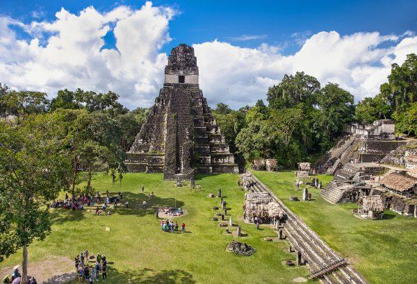 Tikal, a Mayan complex of pyramids in northern Guatemala